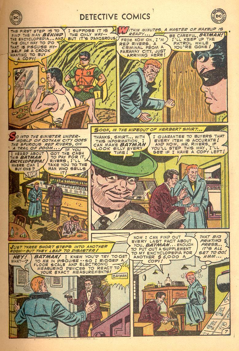 Read online Detective Comics (1937) comic -  Issue #214 - 9