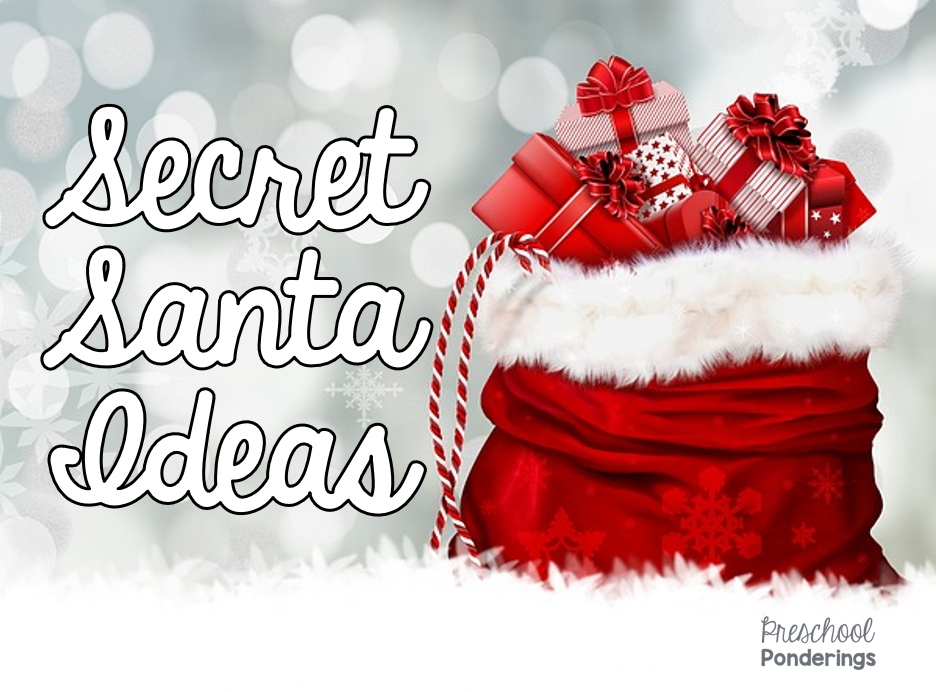 Preschool ponderings secret santa ideas i feel like secret santa is one of those things that you either really love or really hate personally i love it ive participated in a secret santa or m4hsunfo