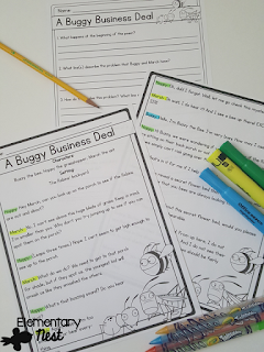 Story Structure activities (beginning, middle, and end)- blog post that outlines activities and ideas to use when teaching ELA RL2.5 and RL3.5