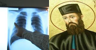 Συγκλονίζει το θαύμα του Αγ. Εφραίμ: Έκανε εμετό τον καρκίνο πίνοντας αγιασμό