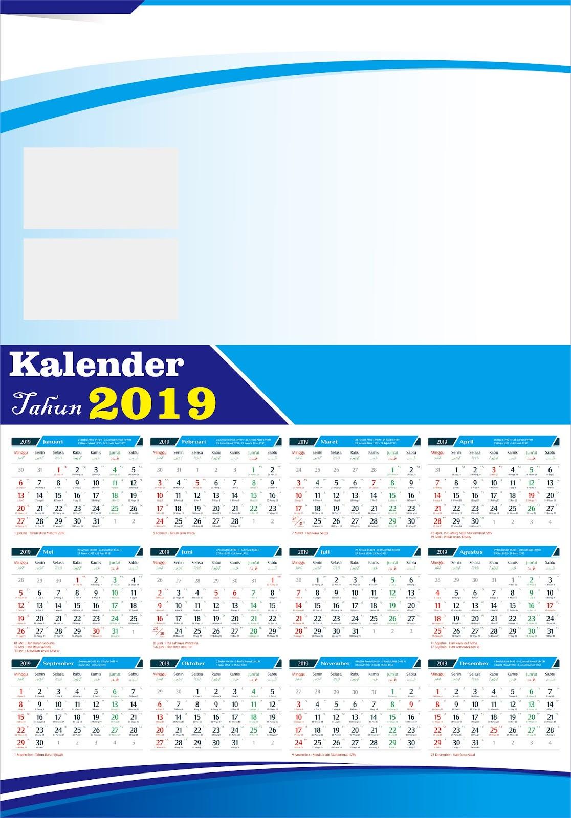 44+ Inspirasi Download Desain Kalender 2020 Cdr, Desain ...
