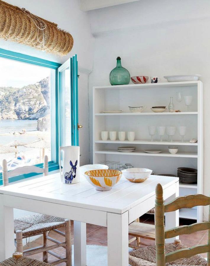Decoraci n f cil una casa en el mediterr neo constru da - Decoracion estilo mediterraneo ...