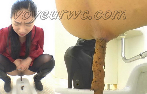 [SL-028] Sexy girls shitting in toilet hidden cameras recording from different angles
