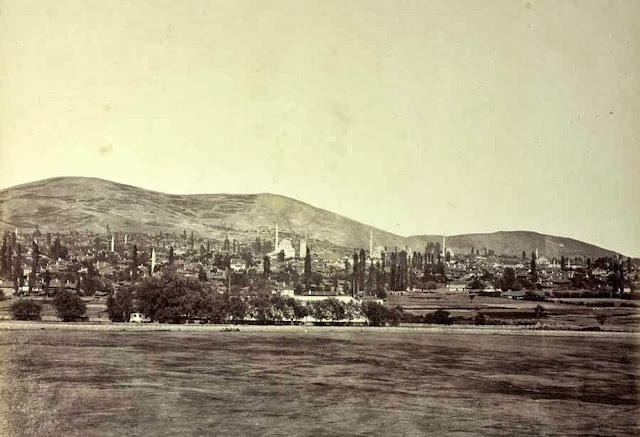 Bitola view from the south October 1863 01 - Macedonia in 1863 - Photo Collection of Josef Székely