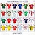 Confira todas as camisas titulares das seleções da Copa do Mundo de 1998