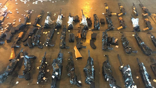 FUZIS - Polícia Civil apreende 60 no Galeão