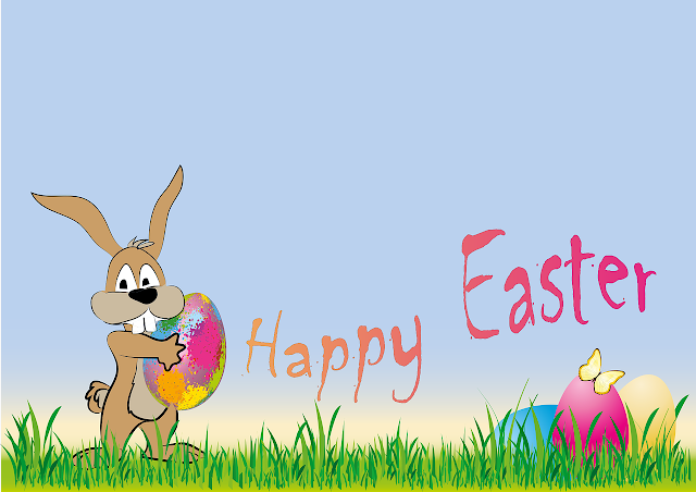 Funny happy easter greetings cards