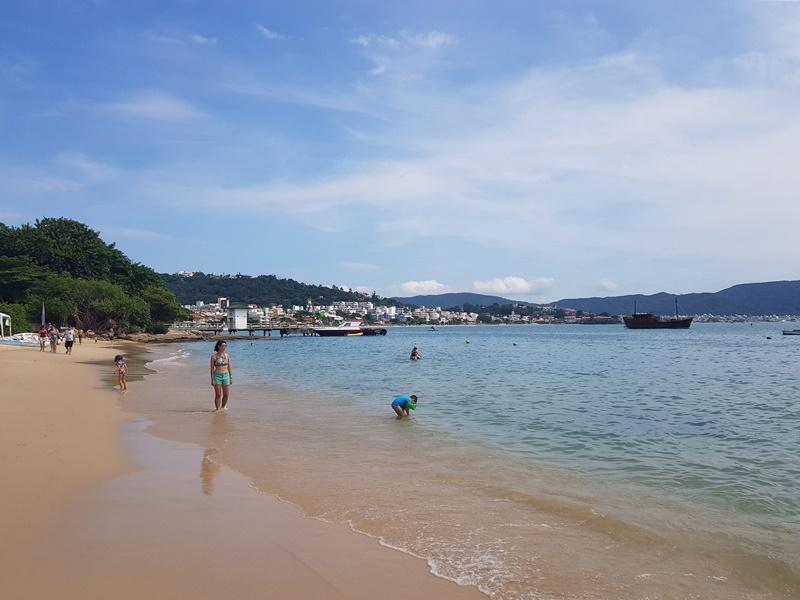 Passeio a Praia de Bombinhas