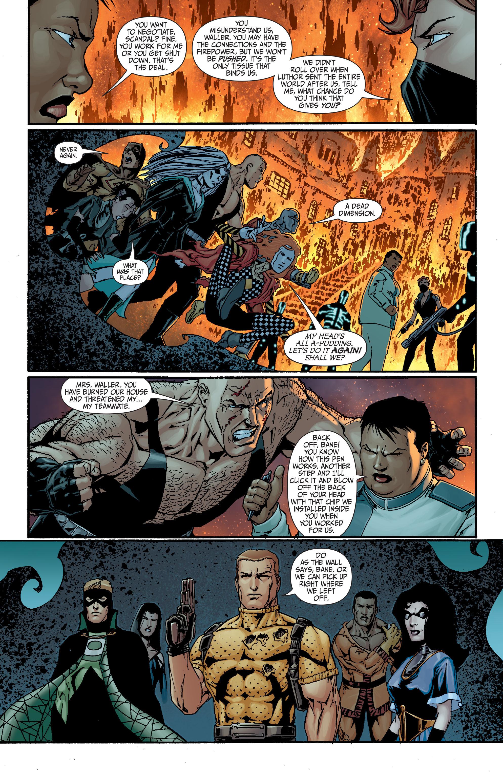 Read online Secret Six (2008) comic -  Issue #18 - 11