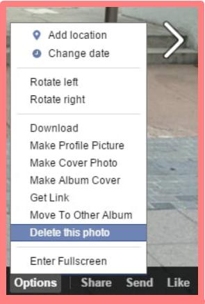 How To Delete Photos On Facebook