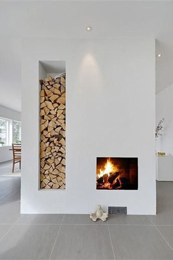 image result for sophisticated fireplace design by Piet Boon Dutch studio