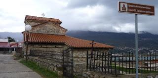 Ohrid, Iglesia de San Constantino y Santa Elena.