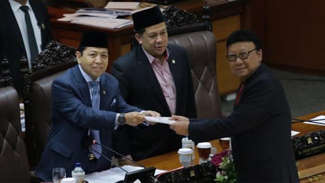 Perppu Ormas Disahkan, Tjahjo Protes Jokowi Disebut Langgar UU