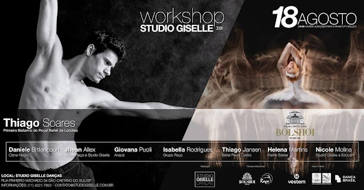 WORKSHOP DE DANÇA - STUDIO GISELLE 2018