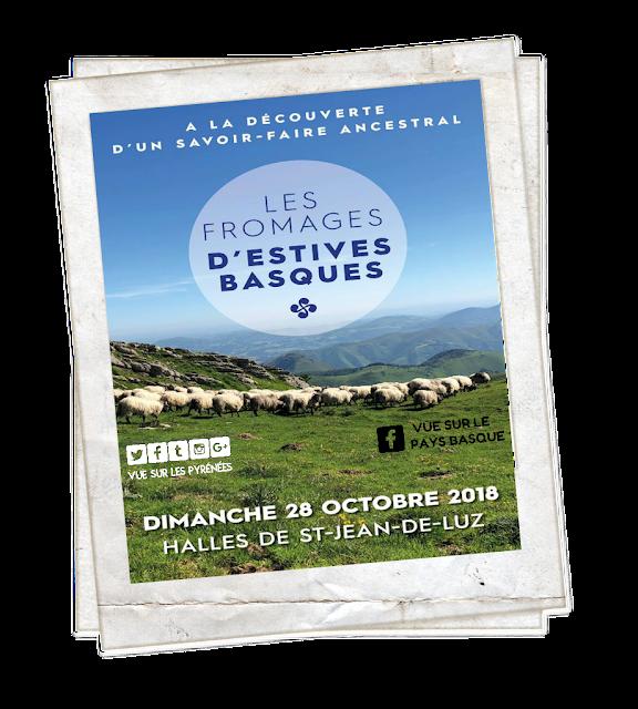 Rendez vous avec Les Fromages d'Estives Basques Saint Jean de Luz 2018