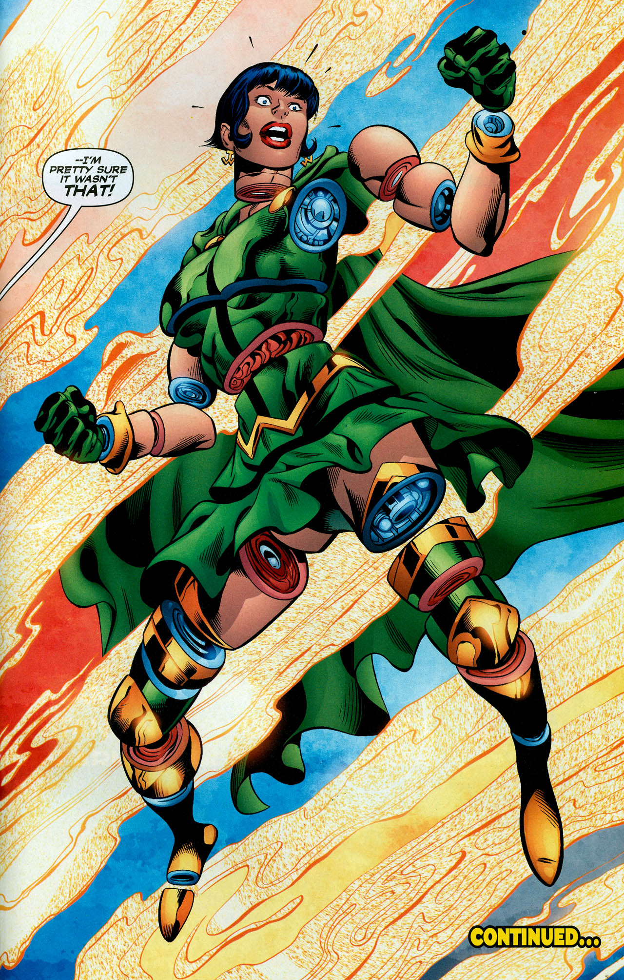 Read online Trinity (2008) comic -  Issue #28 - 35