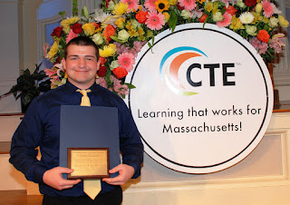 Tri-County senior Zachary Keeler selected as 31st annual Outstanding Vocational Student Award