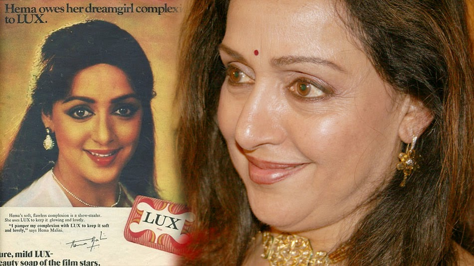 Bollywood actress and Lux ambassador Hema malini beauty secret, by Rajiv Dixit - Turnspiritual.in, Turn Spiritual