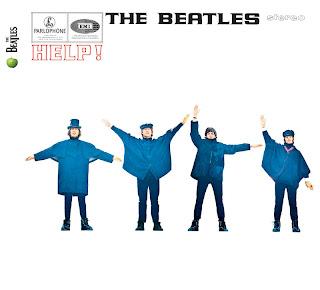 """Capa do disco """"Help!"""", de (1965), dos Beatles"""