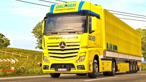Dachser pack for Mercedes MP4