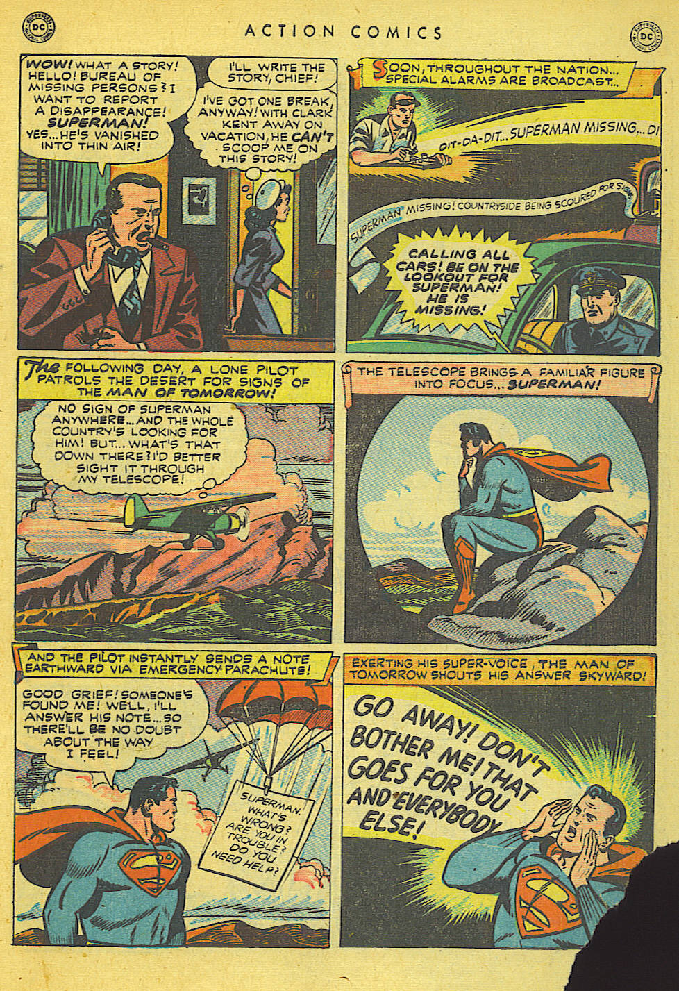 Read online Action Comics (1938) comic -  Issue #140 - 5