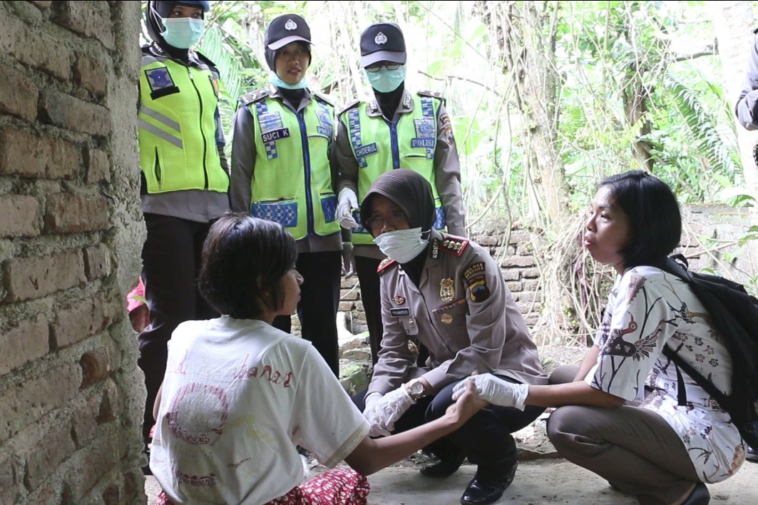 Tampung Puluhan Penderita Gangguan Jiwa, Padepokan Mbah Marsiyo Dikunjungi Kapolres Kebumen