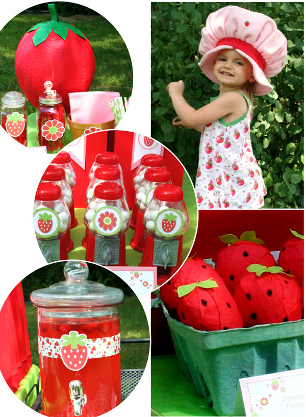 Diy Strawberry Shortcake Birthday Party Ideas Party Ideas Party Printables Blog