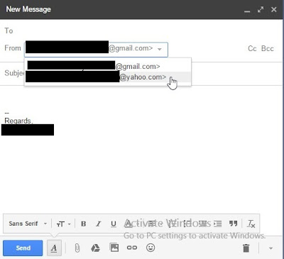 How to add another email to Gmail send email using Gmail