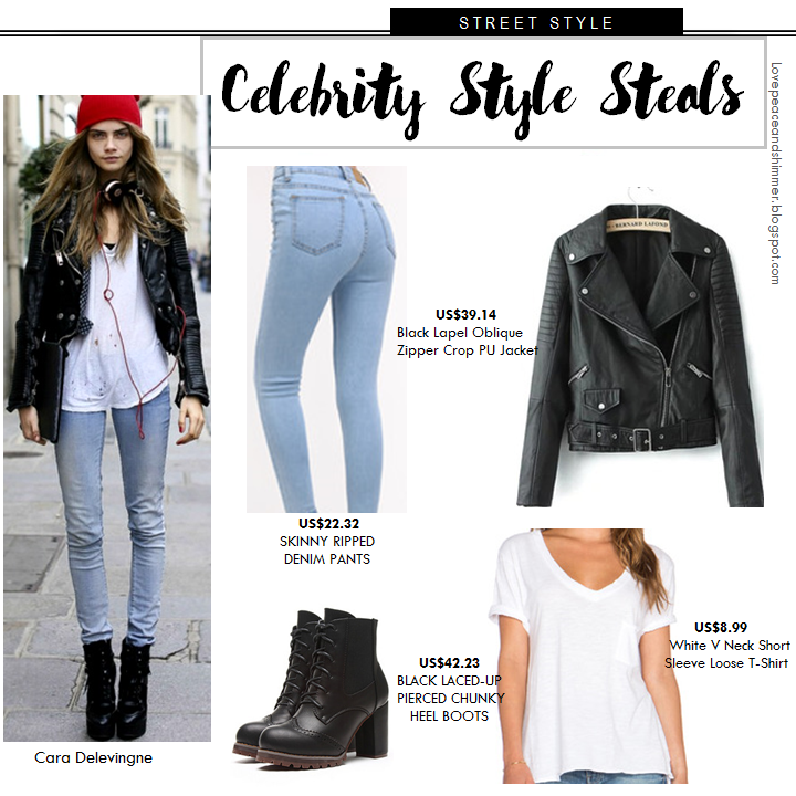 Cara Delevinge: Steal her Style