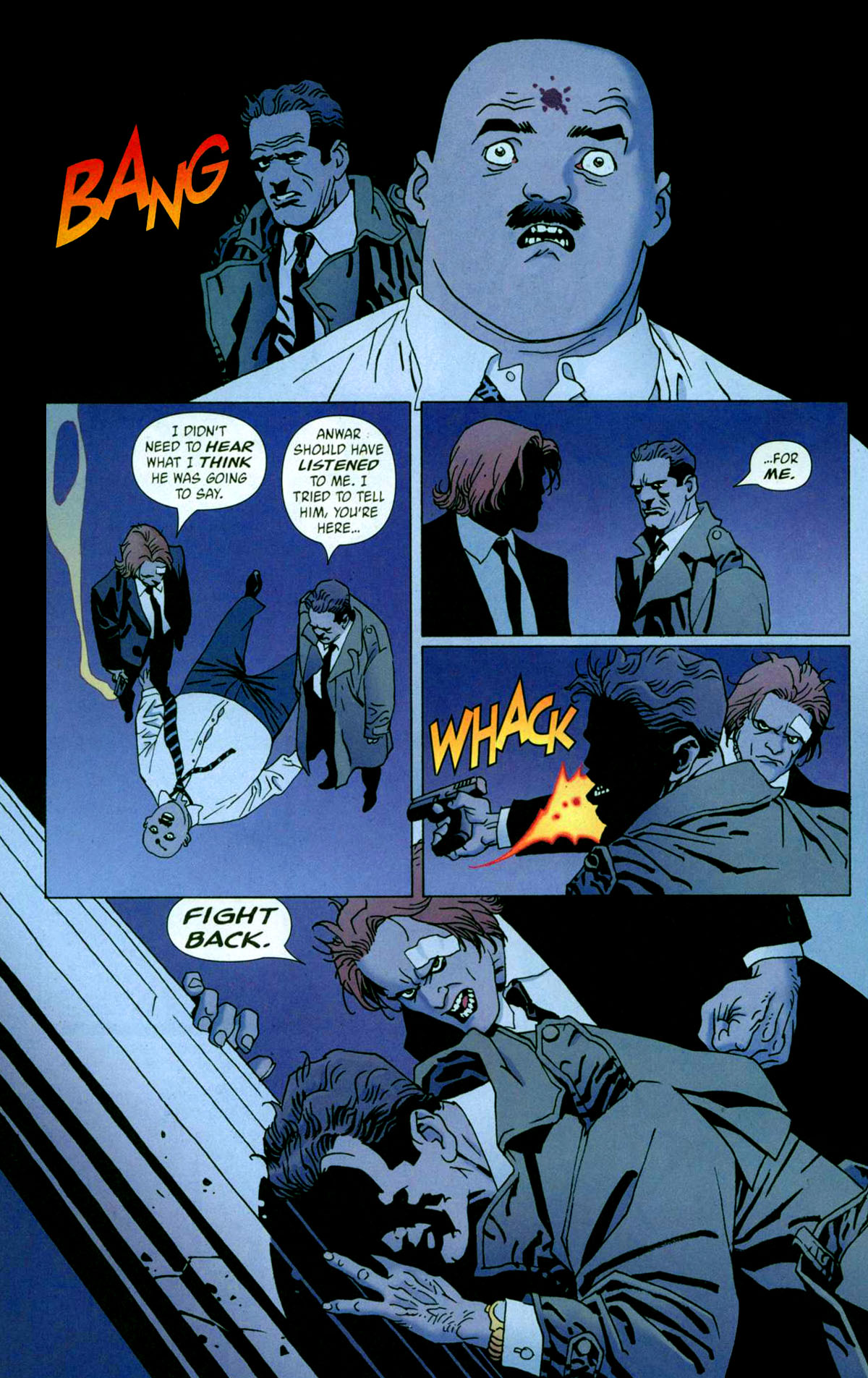 Read online 100 Bullets comic -  Issue #56 - 19