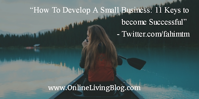 How To Develop A Small Business