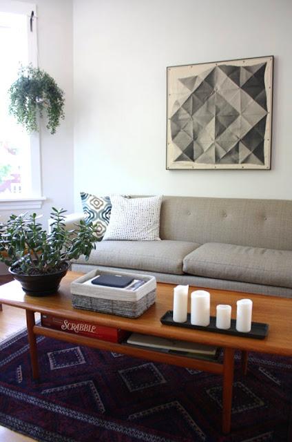 6 cách làm mới phòng khách ít tốn kém
