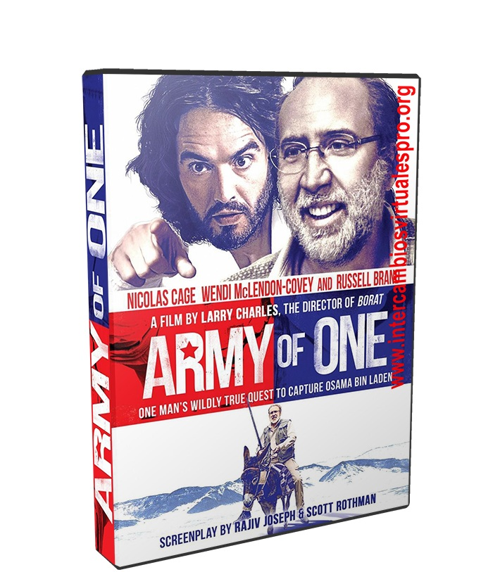 Army of One poster box cover
