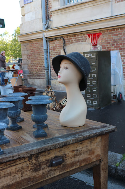 Chapeau / Brocante Amiens Octobre 2016 / Photo Atelier rue verte /