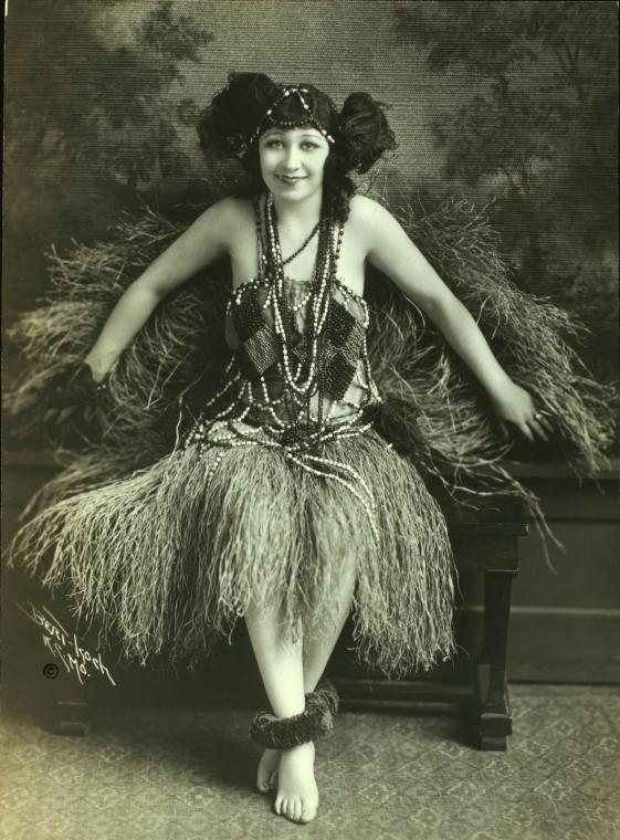 Vintage Hula Dancer
