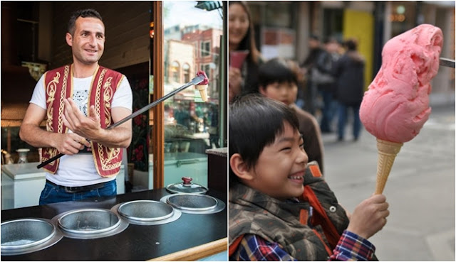Alasan Penjual Es Krim Turki Suka Ngerjain Pembeli