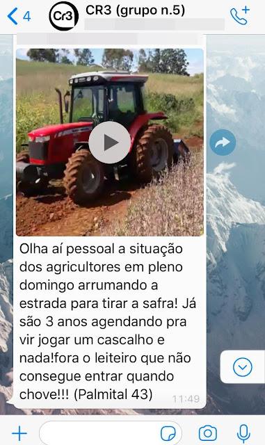 Roncador: Pouca vergonha! Município recebe milhões por mês, mas agricultores sofrem com estradas