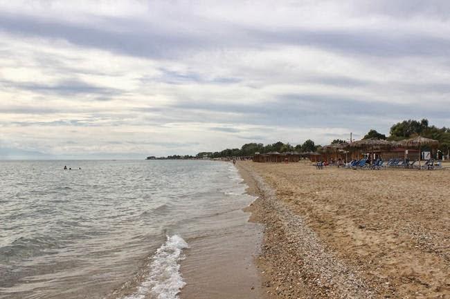 Nea Flogita beach