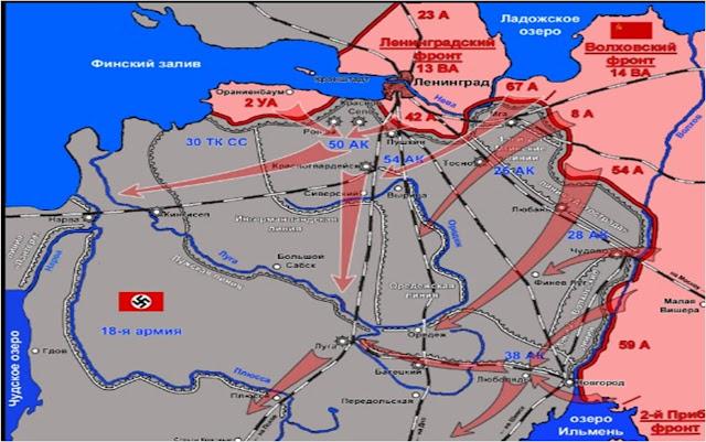 Planned Soviet advances