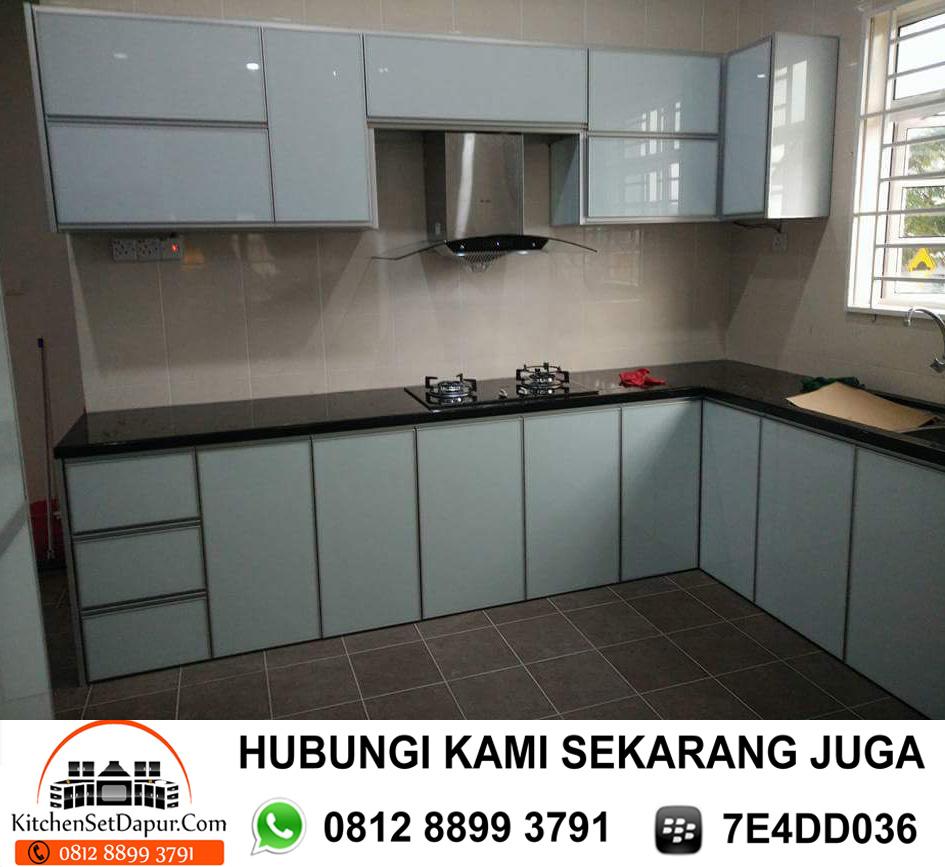 Jasa Pembuatan Kitchen Set Aluminium Cinere Depok 0812