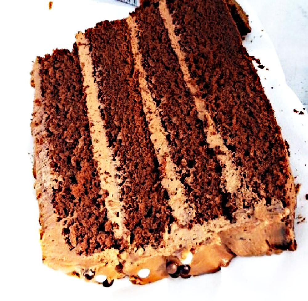 tarta de doble chocolate