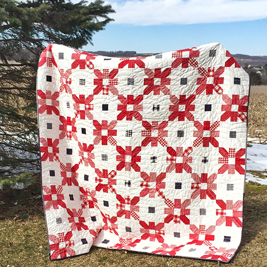 Picnic Fireworks Quilt Free Tutorial