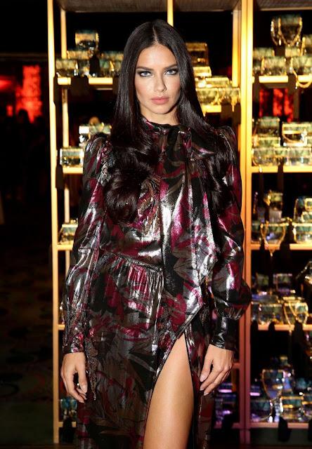 Adriana Lima – Marc Jacobs Divine Decadence Fragrance Dinner