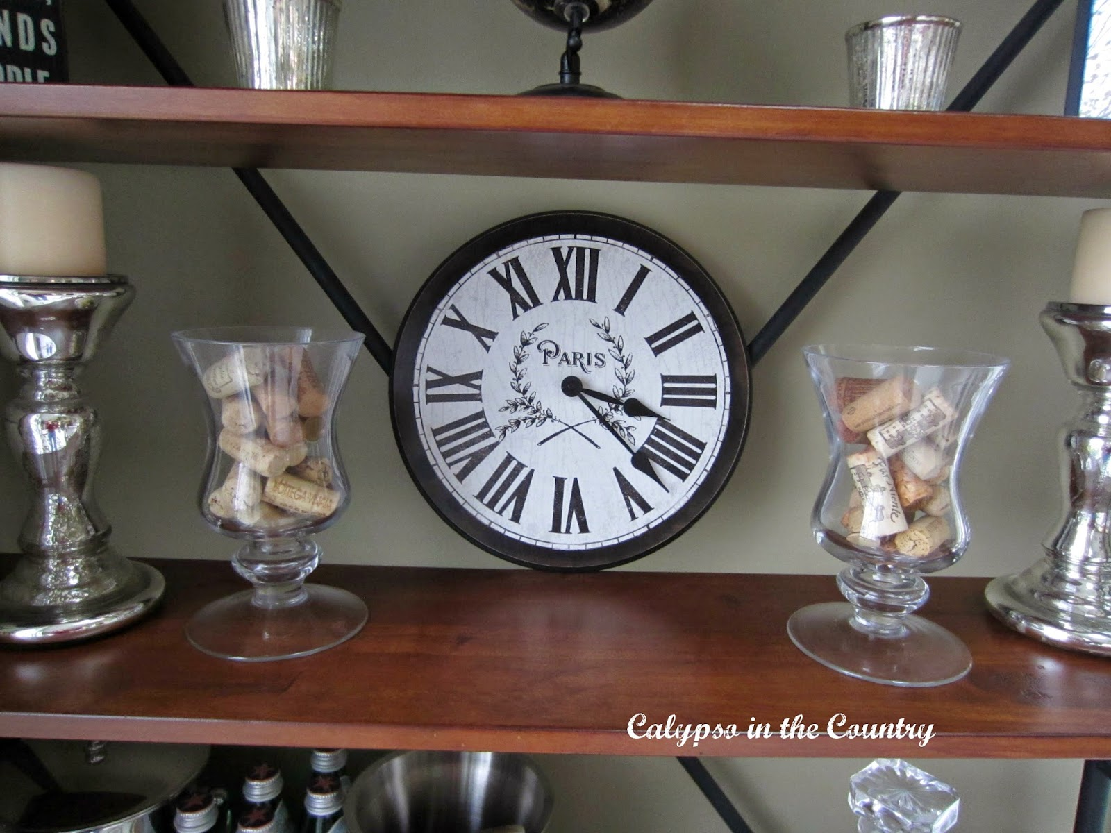 calypso in the country clocks in my home i purchased this clock from the big clock store