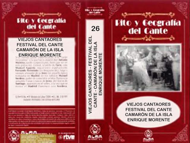 JUAN TALEGA - VIEJOS CANTAORES - RITO Y GEOGRAFÍA DEL CANTE TVE