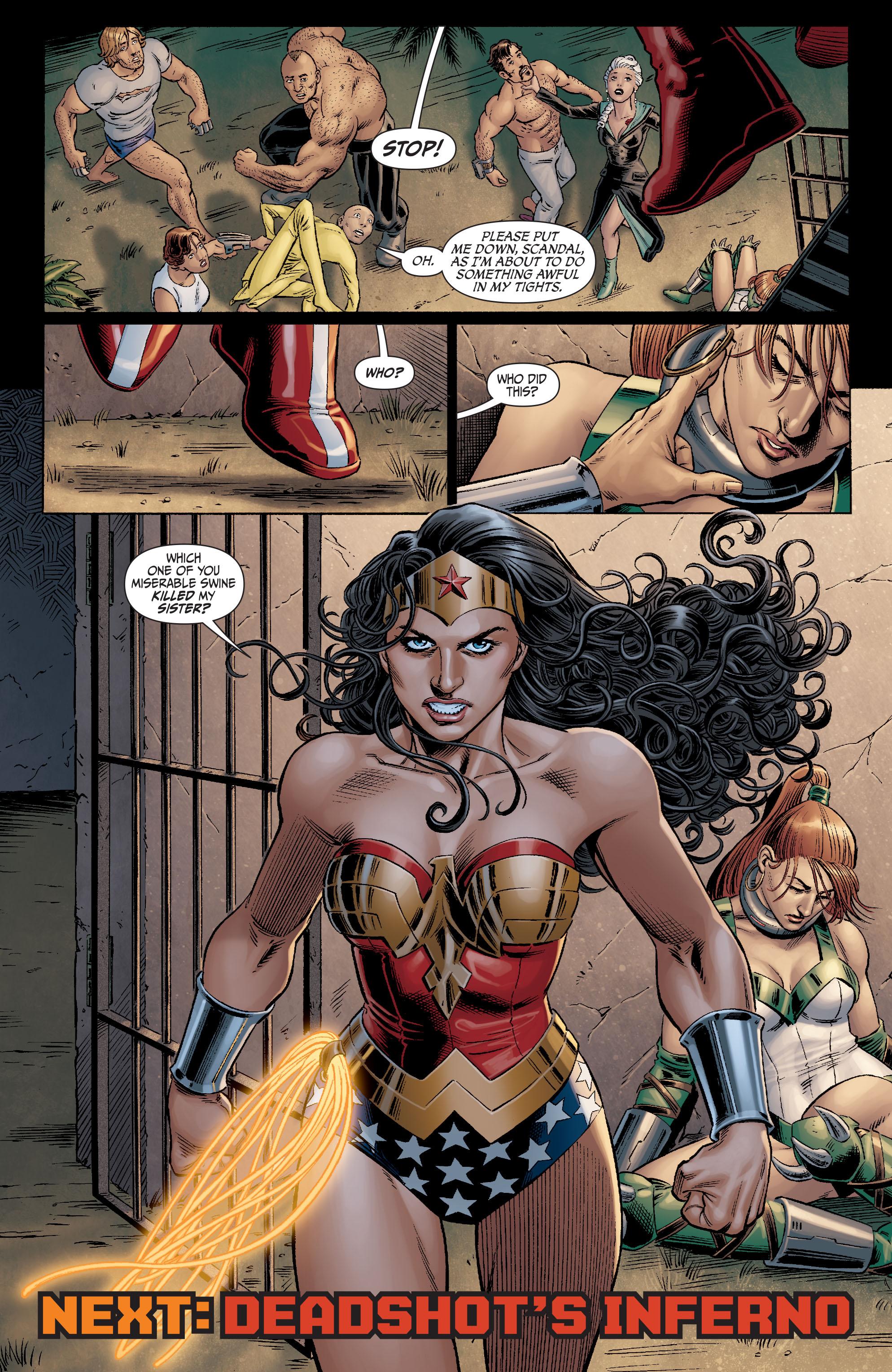 Read online Secret Six (2008) comic -  Issue #11 - 23