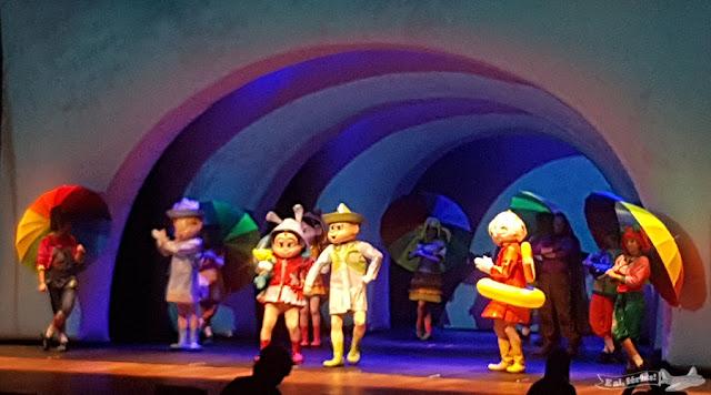 Espetáculo Turma da Mônica contra o Capitão Feio, Teatro Bradesco Rio, Rio de Janeiro