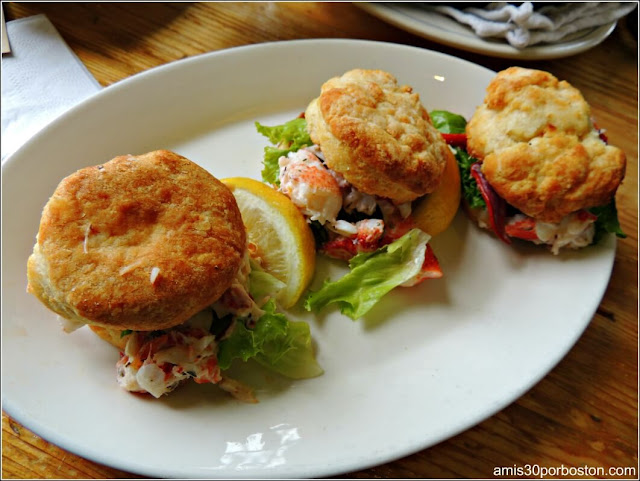 Lobster Sliders en Kittery