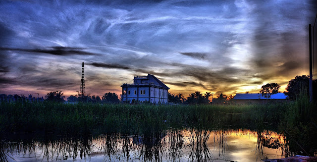 Aurores à Siem Reap