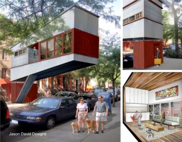 Proyecto de casa árbol urbana
